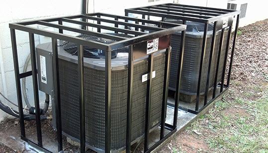 hvac cages